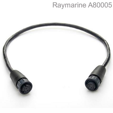 Raymarine-A80005|RayNet to RayNet Cable|5m|Female To Female|For Marine & Boats Thumbnail 1