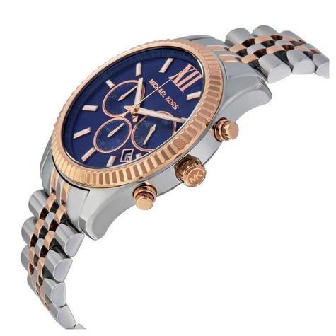 Michael Kors Gent's Lexington Men's Watch|Chronograph Dial|Two Tone Strap|MK8412 Thumbnail 2