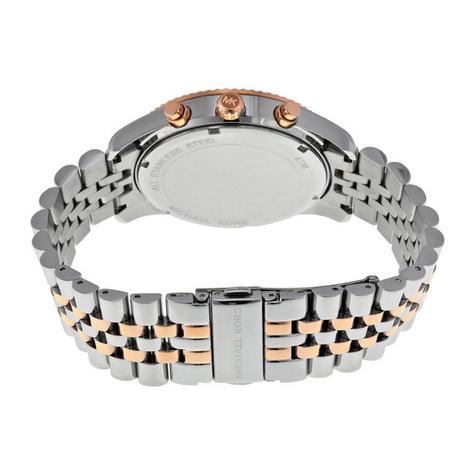 Michael Kors Gent's Lexington Men's Watch|Chronograph Dial|Two Tone Strap|MK8412 Thumbnail 3