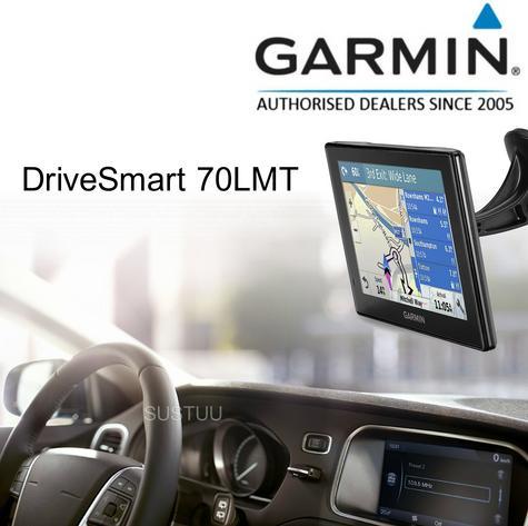 "Garmin DriveSmart 70LMT EU|7""Car GPS SatNav|*FREE Lifetime UK-Europe Map+Traffic Thumbnail 1"