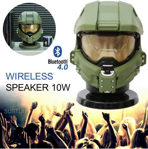 Halo Master Chief Bluetooth Wireless Speaker|Portable Media Player|10W Subwoofer Thumbnail 1