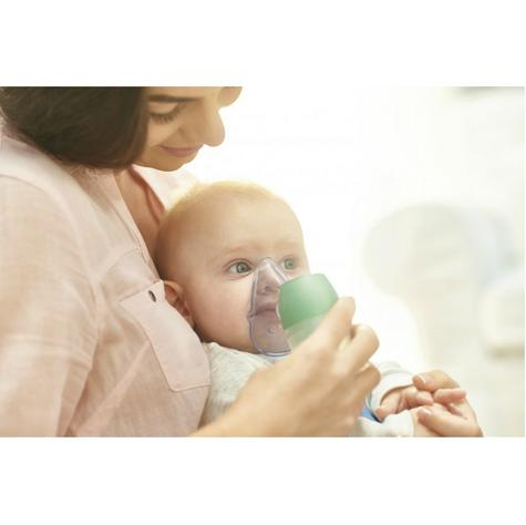 Omron DuoBaby 2-in-1 Electric Inhalators Compressor Nebulizer with Nasal Aspirat Thumbnail 5