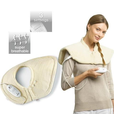 Beurer HK54 Shoulder & Neck Heating Pad|Breathable|Cosy|100W|Auto Switch Off|New Thumbnail 1