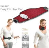 Beurer HK55 Easy Fix Heating Turbo Pad|For/Stomach/Neck/Muscle/Joints Relief|Red