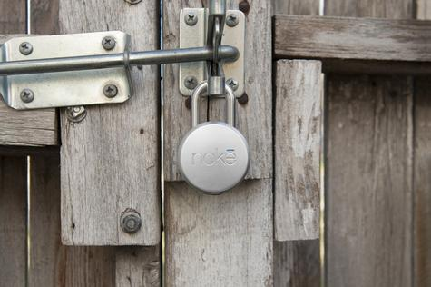 Noke FNAPS Smart Padlock|Bluetooth|Waterproof|Bike Backgate Smartphone Security Thumbnail 5