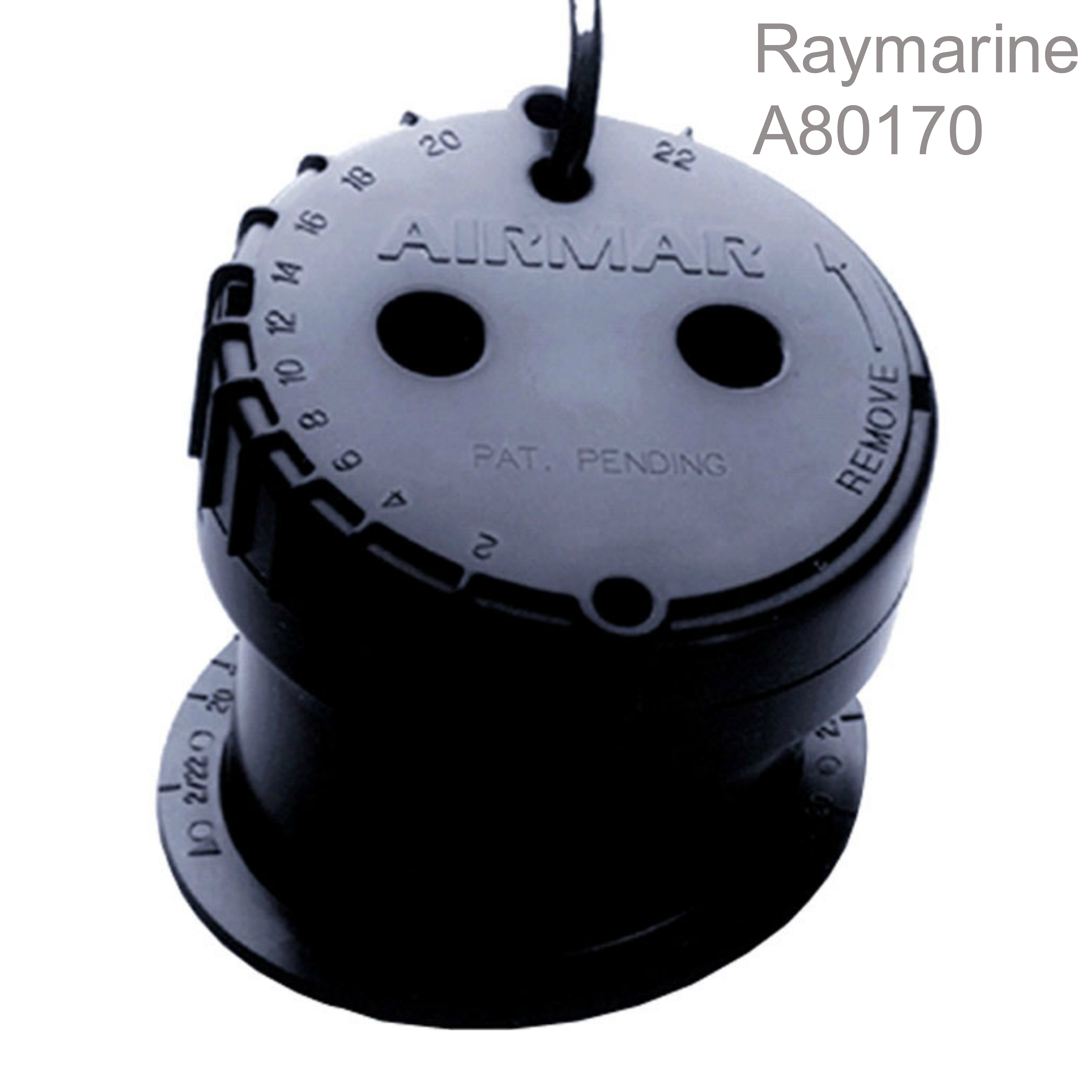 Raymarine-A80170|P79 In Hull Depth MFD Transducer|22°Angle|9.1m Cable|50/200 KHZ