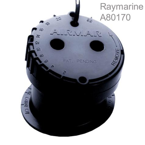 Raymarine-A80170|P79 In Hull Depth MFD Transducer|22°Angle|9.1m Cable|50/200 KHZ Thumbnail 1