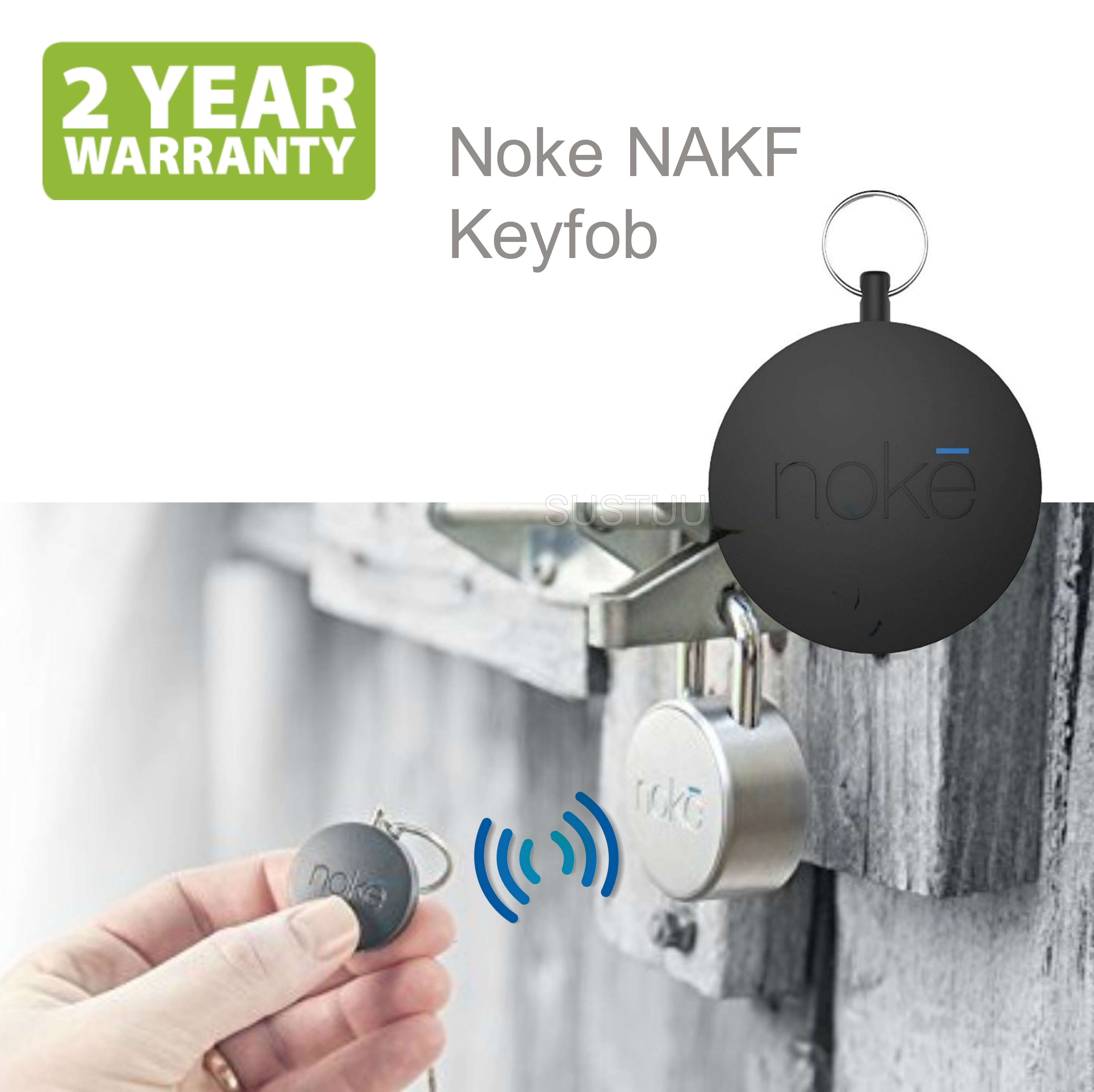 Noke NAKF Keyfob Bluetooth Smart Key|No Need Smartphone|Unlock Padlock & U-Lock