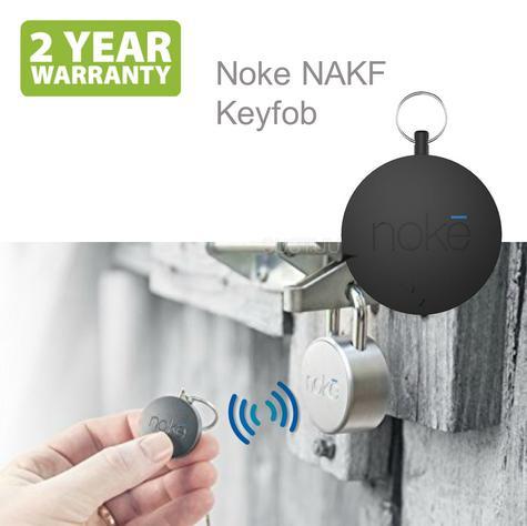 Noke NAKF Keyfob|Bluetooth Smart Key|No Need Smartphone|Unlock Padlock & U-Lock Thumbnail 1