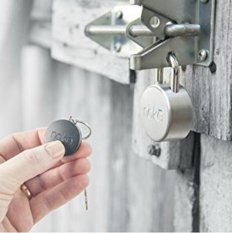 Noke NAKF Keyfob|Bluetooth Smart Key|No Need Smartphone|Unlock Padlock & U-Lock Thumbnail 6