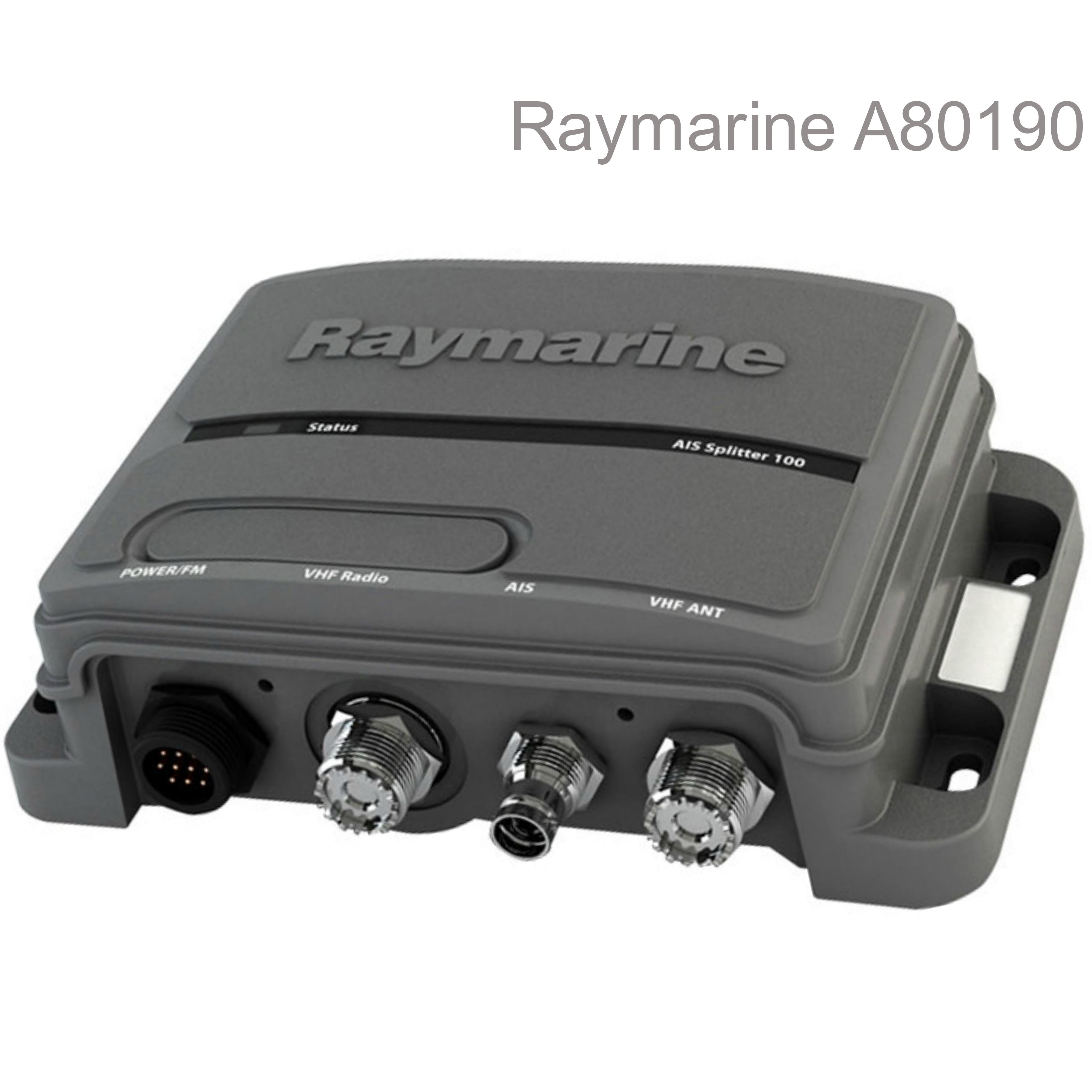 Raymarine A80190|AIS 100 Active Antenna Signals Splitter|For Class B AIS/VHF/FM Radio