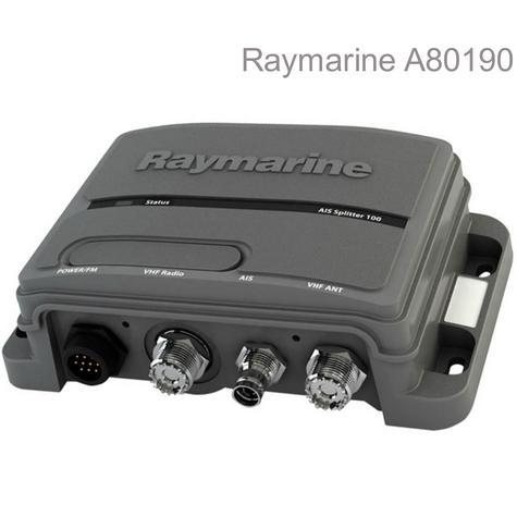 Raymarine A80190|AIS 100 Active Antenna Signals Splitter|For Class B AIS/VHF/FM Radio Thumbnail 1