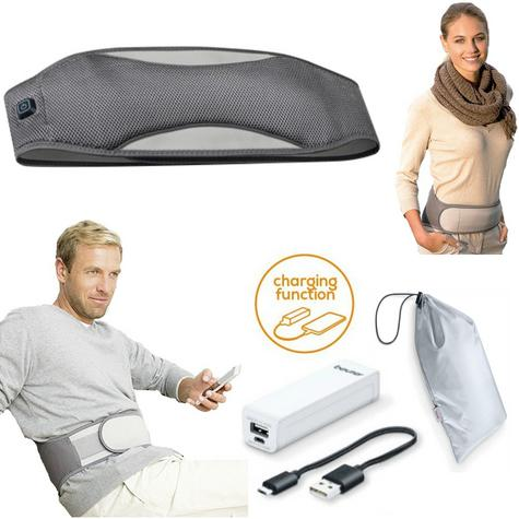 Beurer HK67 Mobile Heated Stomach Belt|Powerbank|Charging Cable|Storage Bag|New| Thumbnail 1