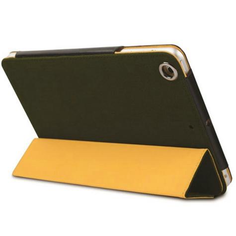 Krusell Textured Canvas Leather Case Cover | Water Splash Proof | iPad Air- Olive Thumbnail 3