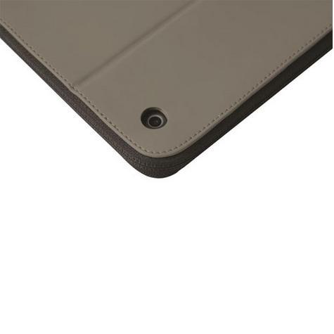 Krusell velvet look Tablet Flip Case Cover | Water Splash Proof | for iPad Air-Grey   Thumbnail 6