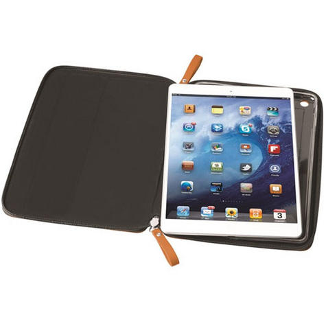 Krusell velvet look Tablet Flip Case Cover  | Water Splash Proof | Pad Air-Orange | Thumbnail 5