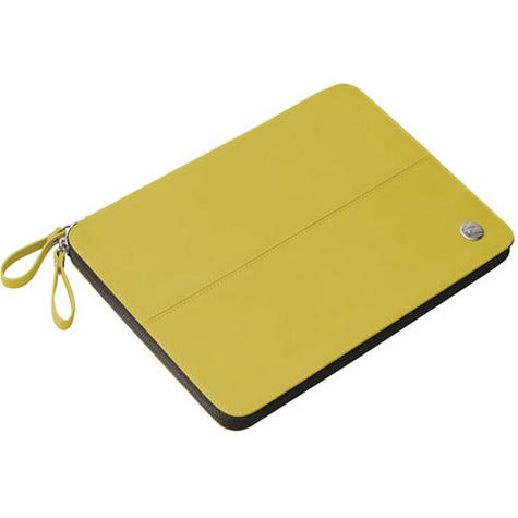 Krusell velvetlook Tablet Flip Case Cover | Water Splash Proof | iPad Air-Yellow | New Thumbnail 2
