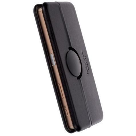 Krusell Orsa Folio Flip Case | Premium Leather Cover | Universal 4XL | SmartPhone | Black Thumbnail 2