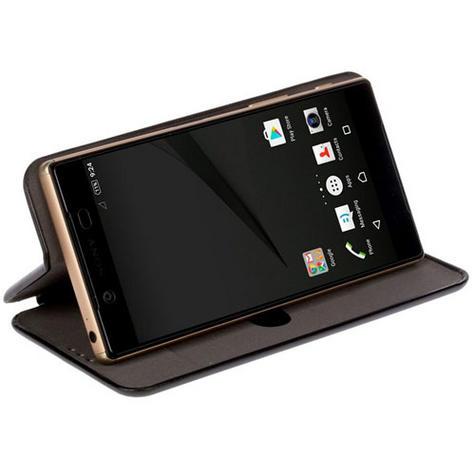 Krusell Orsa Folio Flip Case | Premium Leather Cover | Universal 4XL | SmartPhone | Black Thumbnail 4