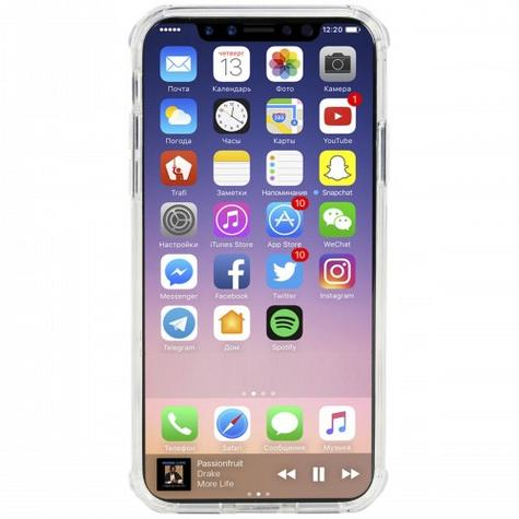 Krusell Kivik Pro Transparent Back Case | Protective Slim Clear Cover | iPhone X-New Thumbnail 3