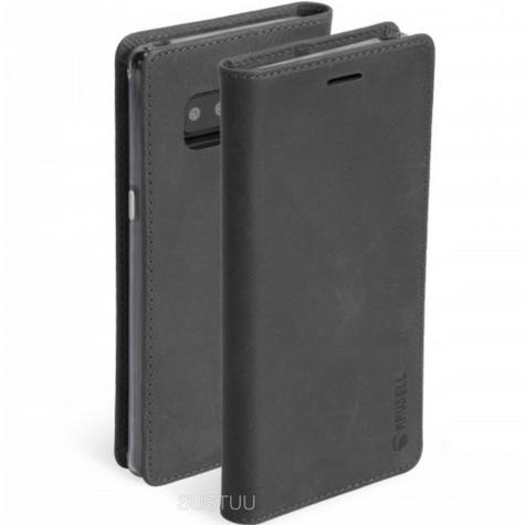Krusell Sunne 4 Card Folio Wallet Flip Case | Protective Cover | Samsung Galaxy Note 8 Thumbnail 1