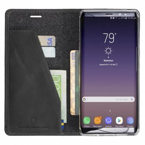 Krusell Sunne 4 Card Folio Wallet Flip Case | Protective Cover | Samsung Galaxy Note 8 Thumbnail 5