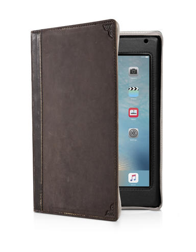 Twelve South 12-1518 BookBook|Leather Case|Handmade|for iPad Mini 2-3-4|- Brown Thumbnail 2