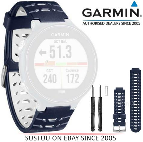 Garmin Replacement Wrist Band Strap|Fits GPS Forerunner230/235/630|Midnight Blue Thumbnail 1