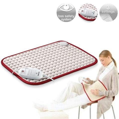Beurer HKCOMFORT Luxury Natural Heat Therapy Pad For Body Muscule Pain Relief Thumbnail 1