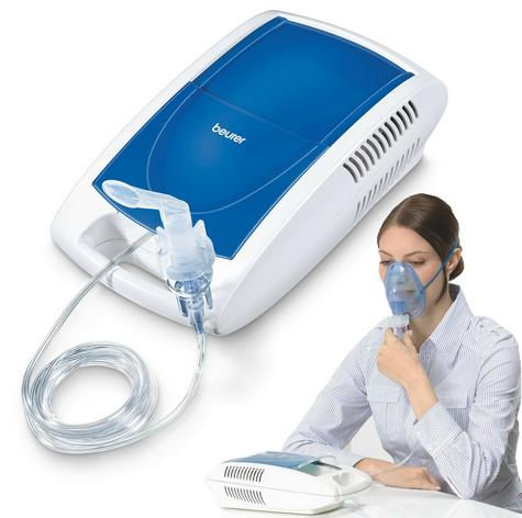 Beurer IH21 Compressed Air Nebuliser For Colds,Asthma,Respiratory Disease Tract Thumbnail 1