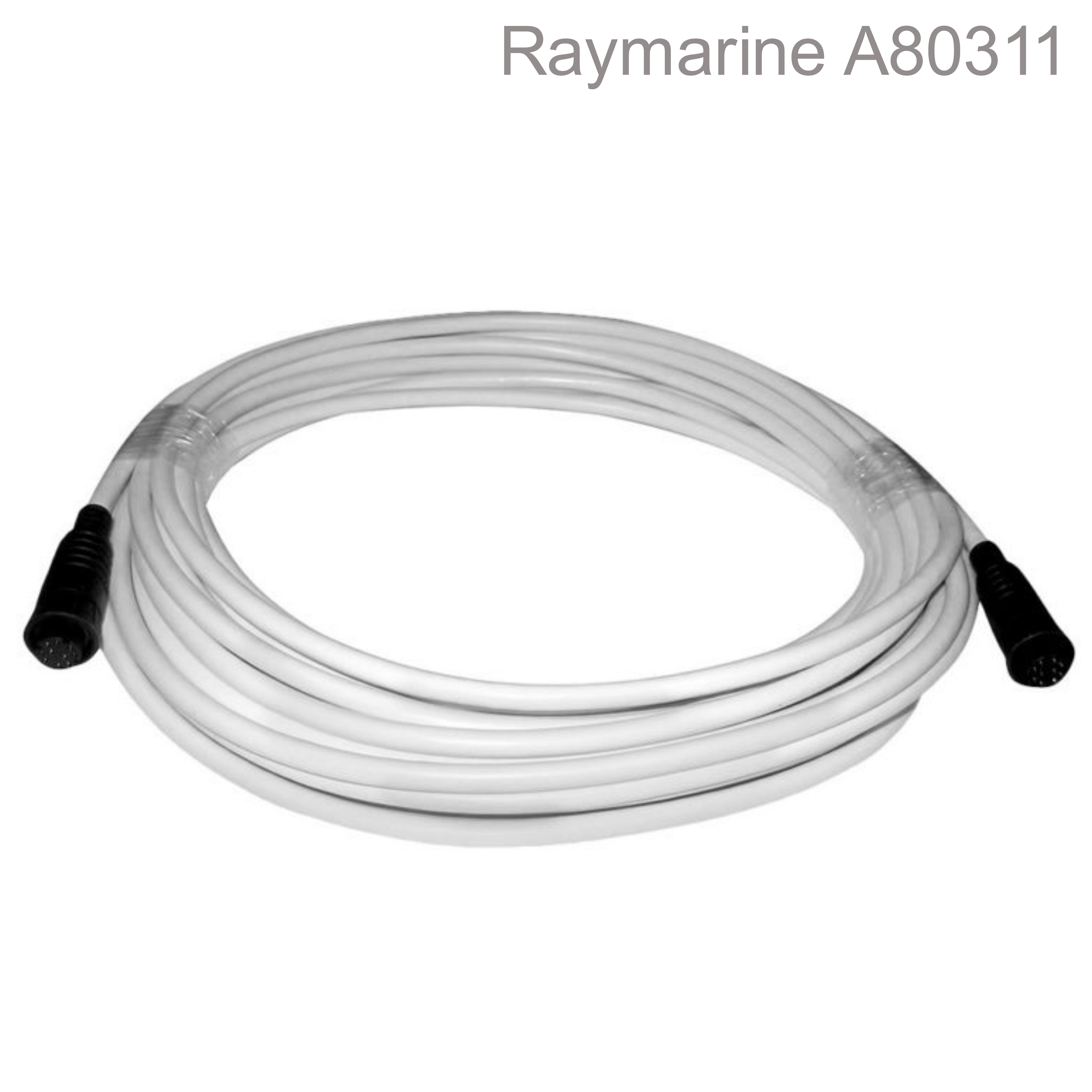 Raymarine-A80311|Quantum Radar System Data Cable| 25 Meter|White|For Marine