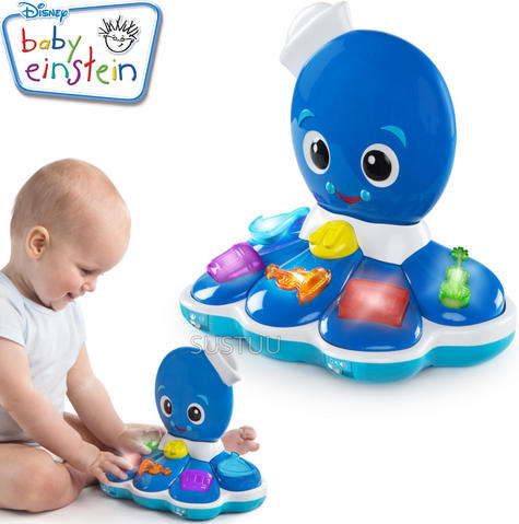 Baby Einstein Octopus Orchestra | Baby/Kids Learning Activity Toy With Music+Light Thumbnail 1
