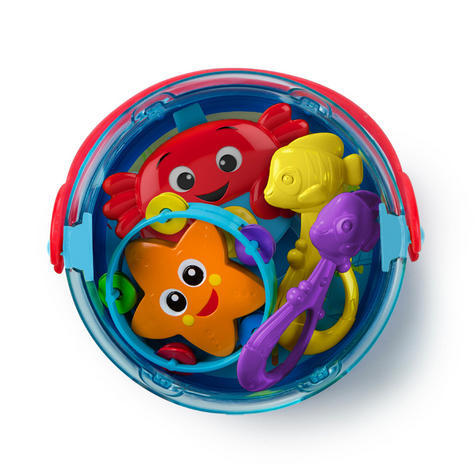 Baby Einstein Box Drum | Baby/Kids Musical Toy Set With Silly Sounds | x2 Fishes | New Thumbnail 3