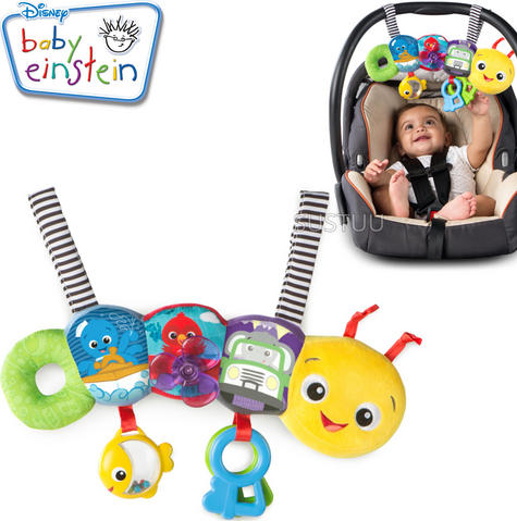 Baby Einstein Travel-pillar Toy Bar | Attaches To Kids Carriers/Playgyms/Strollers Thumbnail 1