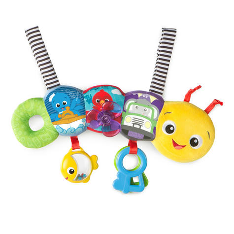 Baby Einstein Travel-pillar Toy Bar   Attaches To Kids Carriers/Playgyms/Strollers Thumbnail 2