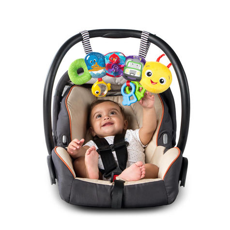 Baby Einstein Travel-pillar Toy Bar | Attaches To Kids Carriers/Playgyms/Strollers Thumbnail 4
