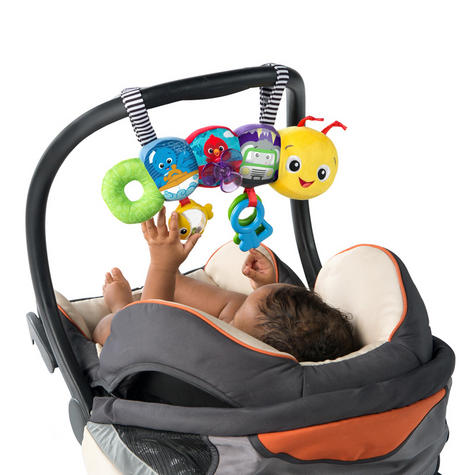 Baby Einstein Travel-pillar Toy Bar | Attaches To Kids Carriers/Playgyms/Strollers Thumbnail 5