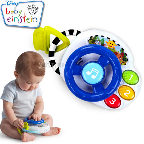 Baby Einstein Driving Tunes | Kid/Toddler'sLearning Activity Toy | With Music+Sound Thumbnail 1