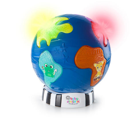 Baby Einstein Music Discovery Globe | Kids Learning Activity Toy With Light & Play Mode Thumbnail 2
