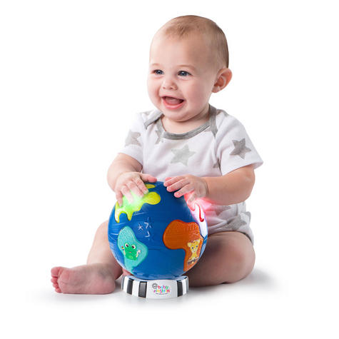 Baby Einstein Music Discovery Globe | Kids Learning Activity Toy With Light & Play Mode Thumbnail 4