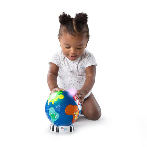 Baby Einstein Music Discovery Globe | Kids Learning Activity Toy With Light & Play Mode Thumbnail 5