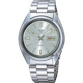 Seiko SNXS73K 5 Mens Automatic Watch|Stainless Steel|Silver with Silver Face|WR|
