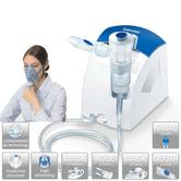 Beurer IH25 Compressed Air Nebulizer|Colds/Asthma|Upper-Lower Respiratory Tract|