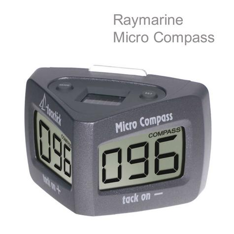 Raymarine T060 Micro Compass|Waterproof|Stable Figure|VMG|Wind Speed|For Marine Thumbnail 1