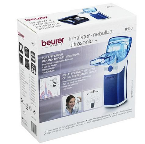 Beurer IH Portable Nebuliser For Cold/Asthma/Respirator Tract Ultrasonic Battery Thumbnail 7