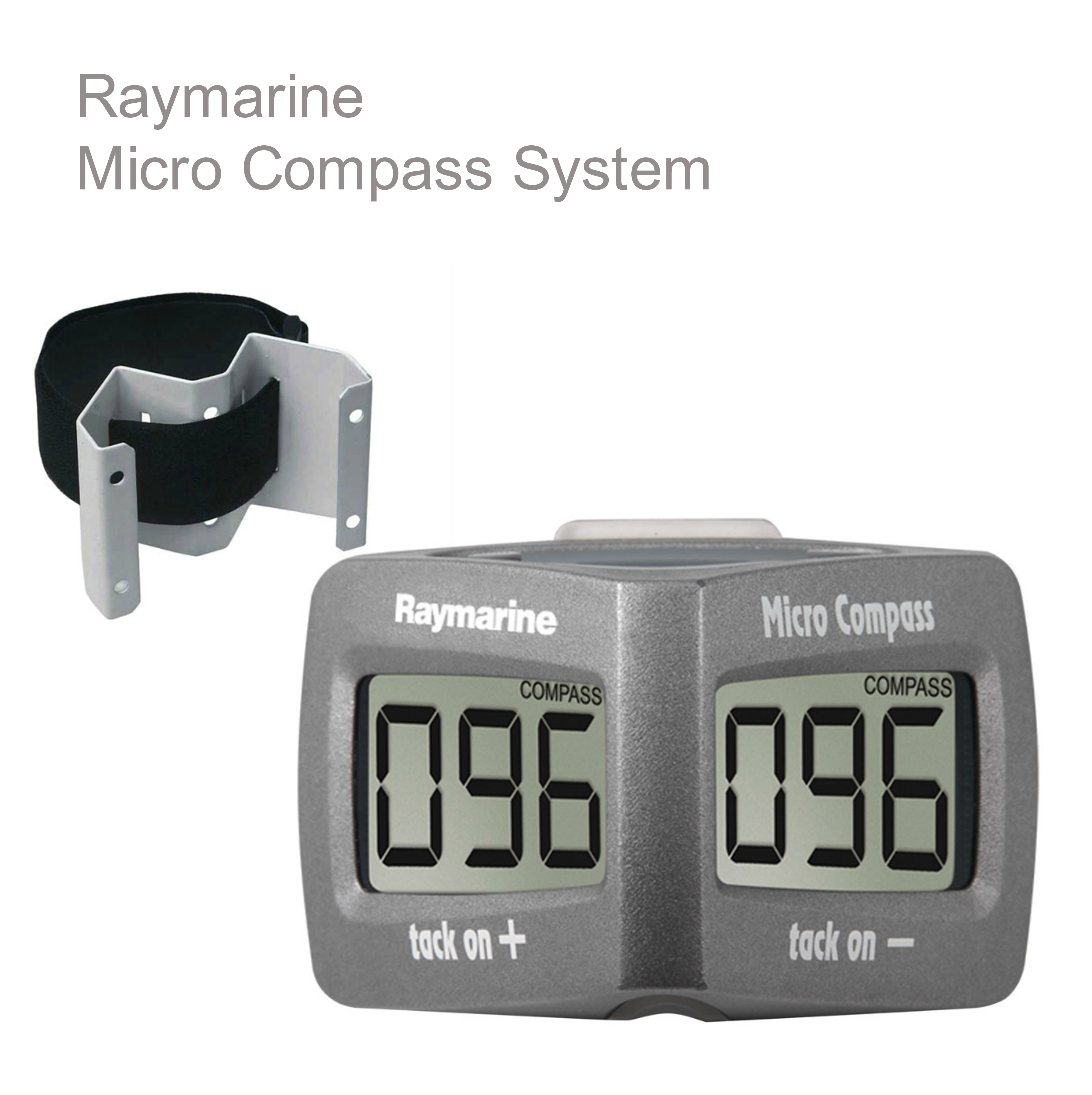 Raymarine T061 Micro Compass System|Waterproof|VMG|Stable Wind Speed|For Marine
