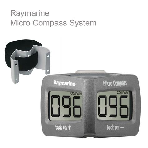 Raymarine T061 Micro Compass System|Waterproof|VMG|Stable Wind Speed|For Marine Thumbnail 1