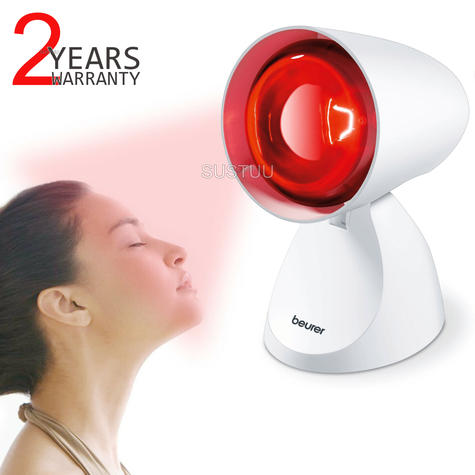 Beurer IL11 Infrared Lamp|Health Therapy|Muscle,Aches Treatment Pain Relief|100W Thumbnail 1