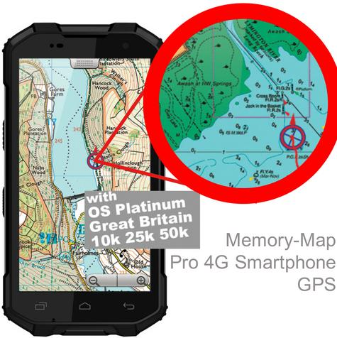 "Memory-Map Defender 5"" GPS 3G RAM 32G Int 13 MP Camera Pro 4G Android Smartphone Thumbnail 1"