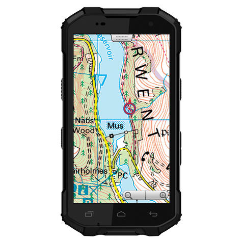 "Memory-Map Defender 5"" GPS 3G RAM 32G Int 13 MP Camera Pro 4G Android Smartphone Thumbnail 5"